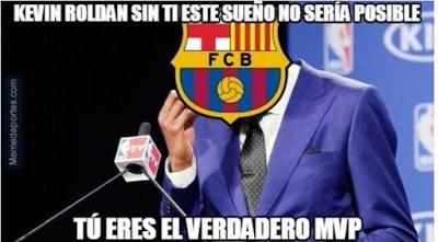 Los mejores memes sobre Piqué y Kevin Roldán: festejos Champions