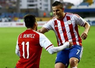 Paraguay 1-Jamaica 0. Copa América 2015 Grupo B