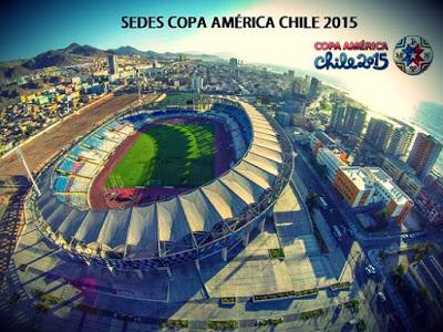 Estadios y Sedes: Copa América Chile 2015