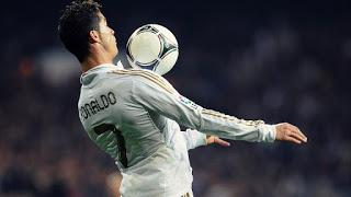 Cristiano Ronaldo: fantástico control del balón