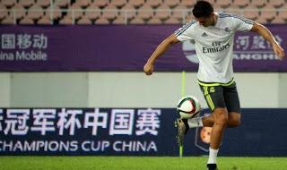 Taconazo de Cristiano Ronaldo ante el Milan