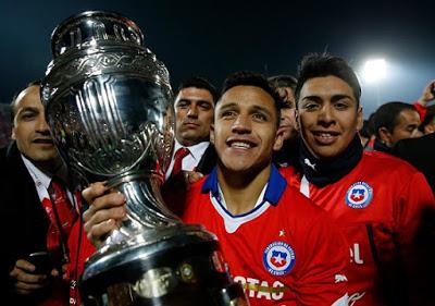 Imagenes Chile Campeón America 2015