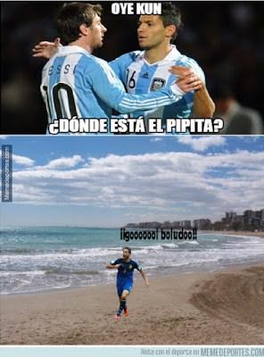 Los mejores memes del Argentina 6-Paraguay 1. Copa América  messi