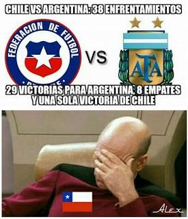Los mejores memes del Chile-Argentina. Final Copa América