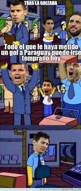 Los mejores memes del Argentina-Paraguay. Copa América