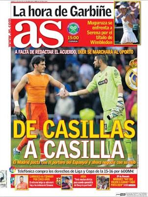 Portada AS: De Casillas a Casilla
