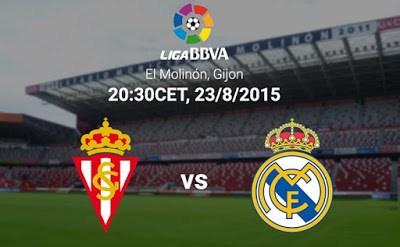 Alineación y previa Sporting-Real Madrid. Jornada 1