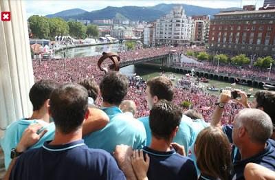 Las mejores imágenes del Athletic Supercampeón de España festejos bilbao