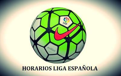 Horarios partidos sábado 22 de agosto: Jornada 1 Liga Española