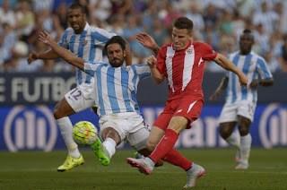 Málaga 0-Sevilla 0. Jornada 1 Liga Española