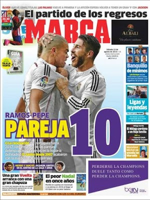 Portada Marca: Ramos-Pepe pareja 10