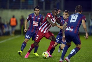 Eibar 0-Atlético Madrid 2. Jornada 4 Liga Española
