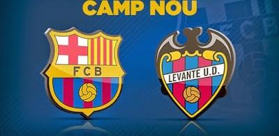 Alineación y previa Barcelona-Levante. Jornada 4