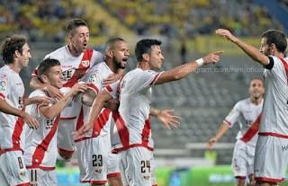 Las Palmas 0-Rayo Vallecano 1. Jornada 4 Liga Española