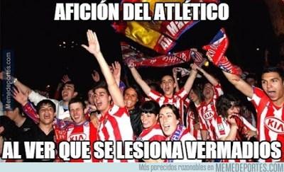 Los mejores memes del Atlético Madrid-Barcelona: Jornada 3 lesion vermaelen