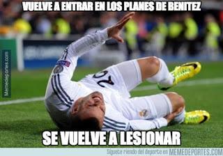 Los mejores memes del Real Madrid-Málaga: Jornada 6 lesion jese