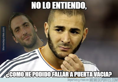 Los mejores memes del Real Madrid-Shakhtar: Champions 2015 benzema