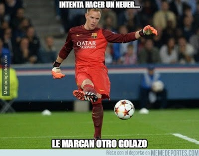 Los mejores memes del Roma-Barcelona: Champions 2015