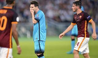 Roma 1-Barcelona 1. Champions League 2015