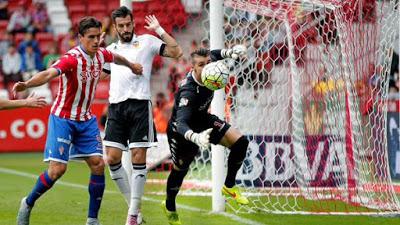 Sporting 0-Valencia1. Jornada 3 Liga Española
