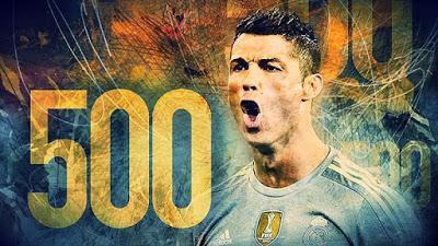 Lo mejor de Cristiano Ronaldo: septiembre 2015 record 500 goles