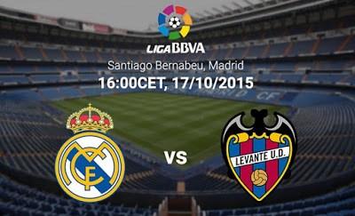 Alineación y previa Real Madrid-Levante. Jornada 8