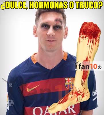 Los mejores memes del Getafe-Barcelona. Jornada 10 dulce hormonas o truco