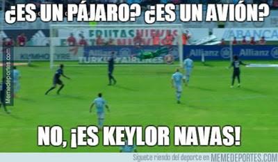 Los mejores memes del Celta-Real Madrid: Jornada 9 keylor