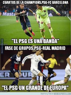 Los mejores memes del PSG-Real Madrid: Champions 2015