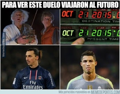 Los mejores memes del PSG-Real Madrid: Champions 2015 volver al futuro marty mcfly doc