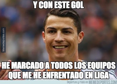 Los mejores memes del Real Madrid-Las Palmas: Jornada 10 ronaldo