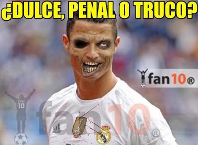 Los mejores memes del Real Madrid-Las Palmas: Jornada 10 dulce penal o truco cristiano ronaldo