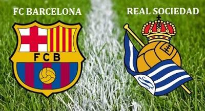 Alineación y previa Barcelona-Real Sociedad. Jornada 13