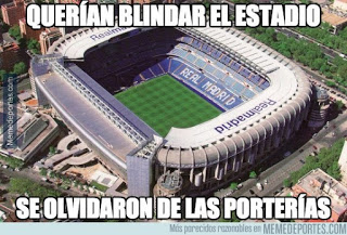 Los mejores memes del clásico Real Madrid-Barcelona: Jornada 12 bernabeu