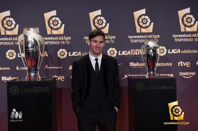 Imágenes de la gala Premios La Liga 2014-2015  leo messi