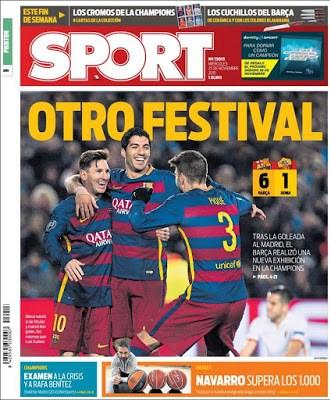Portada Sport: otro festival