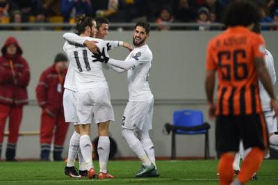 Shakhtar 3-Real Madrid 4. Champions League