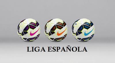 Alineaciones Jornada 15. Liga Española 2015