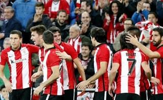 Athletic Bilbao 2-Levante 0. Jornada 16 Liga Española