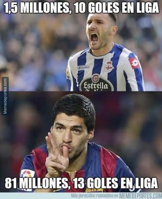 Los mejores memes del Barcelona-Depor. Jornada 15