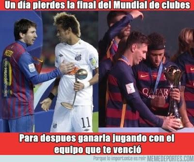 Los mejores memes del River-Barcelona. Mundial de Clubes