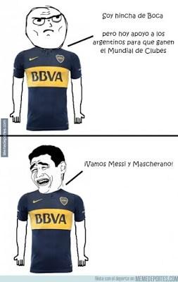 Los mejores memes del River-Barcelona. Mundial de Clubes boca juniors