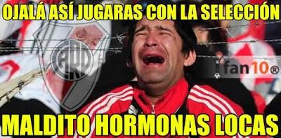 Los mejores memes del River-Barcelona. Mundial de Clubes hormonas locas messi