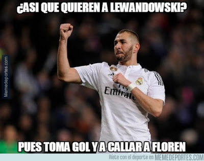 Los memes graciosos del Shakhtar-Real Madrid: Champions 2015 benzema