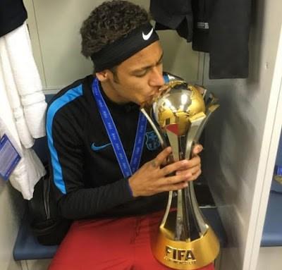 El Barça festeja el Mundial de Clubes en Instagram neymar