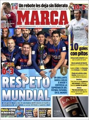 Portada Marca: Respeto Mundial barcelona