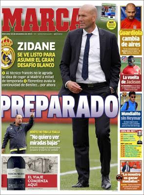 Portada Marca: Zidane preparado