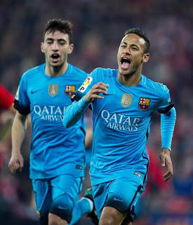 Athletic Bilbao 1-Barcelona 2. Cuartos Copa del Rey (ida) neymar munir