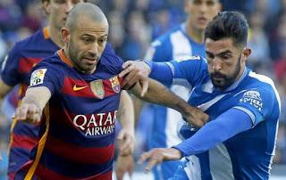 Espanyol 0-Barcelona 0. Jornada 18 Liga Española
