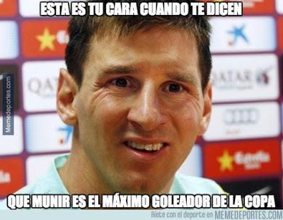 Los mejores memes del Espanyol-Barcelona: Copa del Rey munir doblete